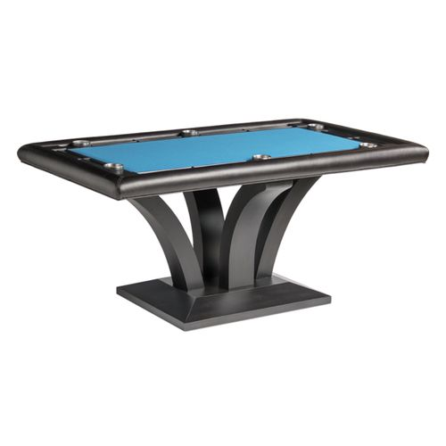 Treviso Rectangular Poker Table w/ 2 Piece Dining Top