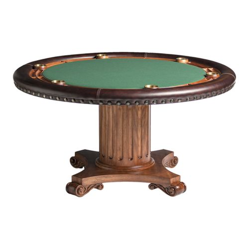 Augustus Poker Table w/ Optional Dining Top