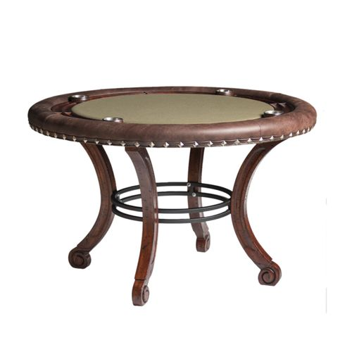 Madrid Poker Table w/ Optional Dining Top