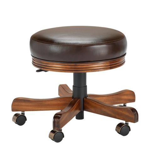 938 Backless Game Chair / Vanity Stool