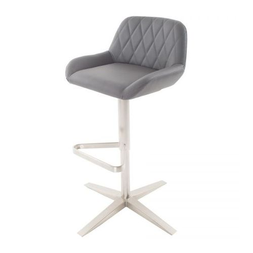 Geo Swivel Bar Stool