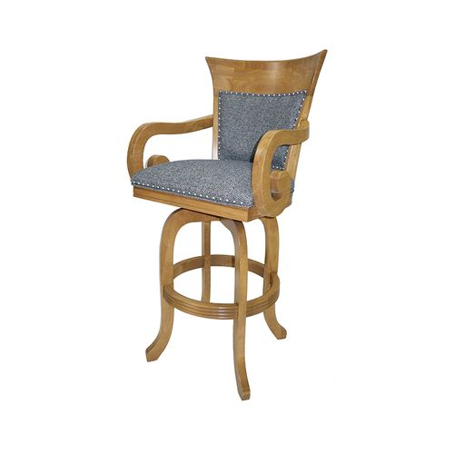 Leaf Swivel Barstool