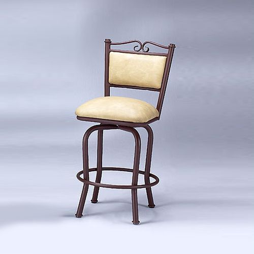 5038 No Arms Swivel Stool