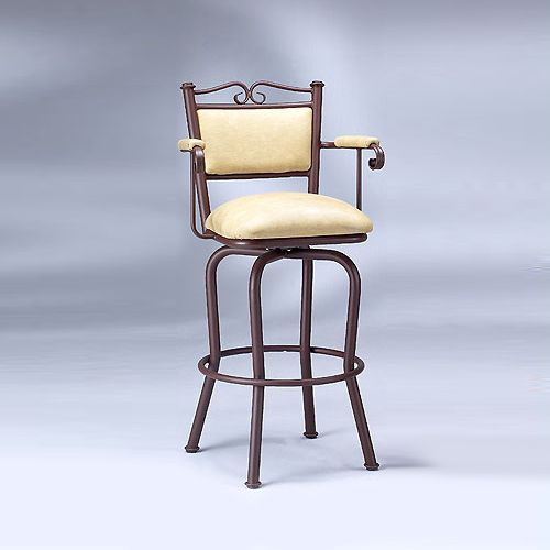 5039 Arms Swivel Stool
