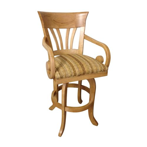 Wave Swivel Barstool