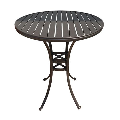 Ian Outdoor Aluminum Pub Table