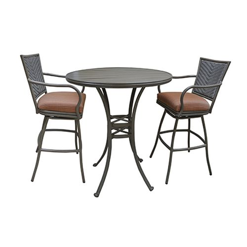 Erin Outdoor Aluminum Pub Set