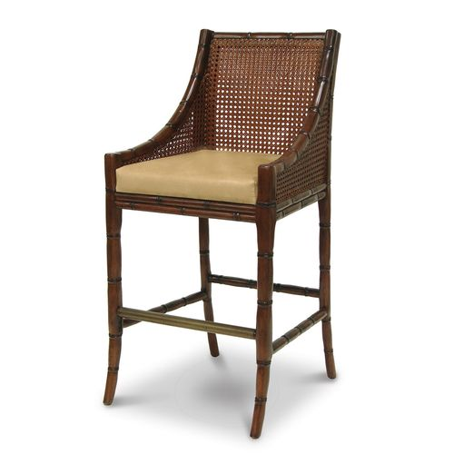 China Bay Barstool, Brown