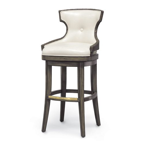 Rhodes Barstool, Medium Grey